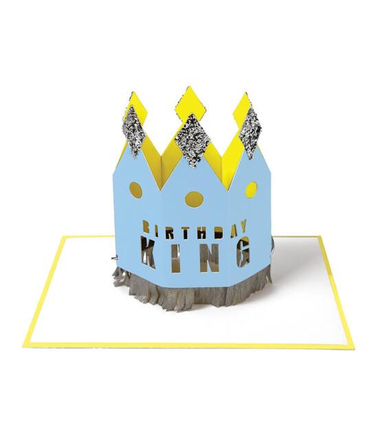 Meri Meri Birthday King Tebrik Kartı