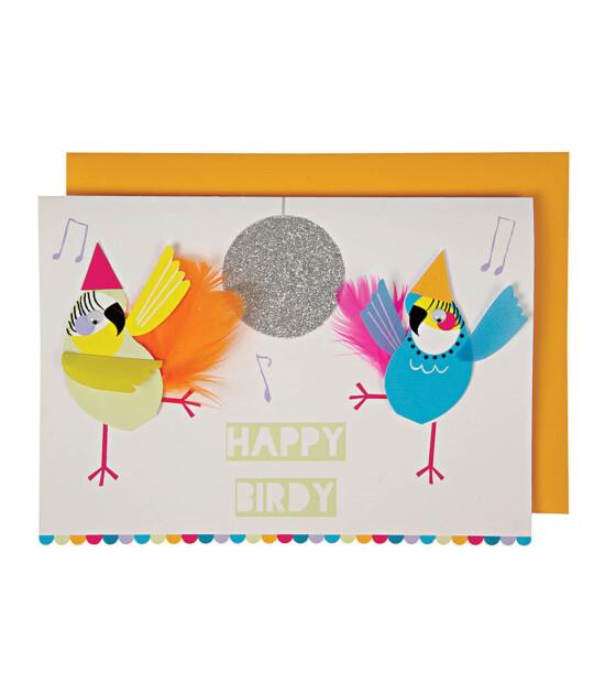 Meri Meri Happy Birdy Tebrik Kartı