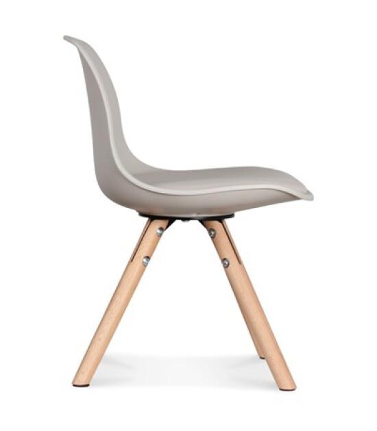 Mini Opjet Iskandinav Çocuk Sandalyesi (Bej)