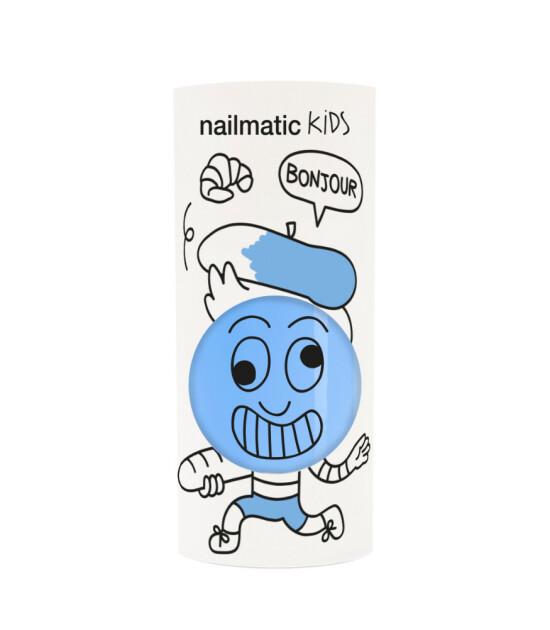Nailmatic Su Bazlı Çocuk Tırnak Cilası // Gaston (Mavi)