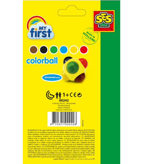 Ses Creative İlk Renk Topum