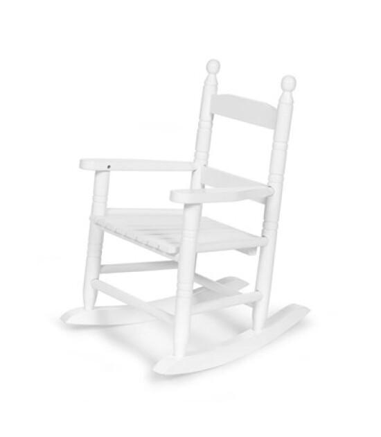 ChildHome Mini Sallanan Sandalye, Beyaz