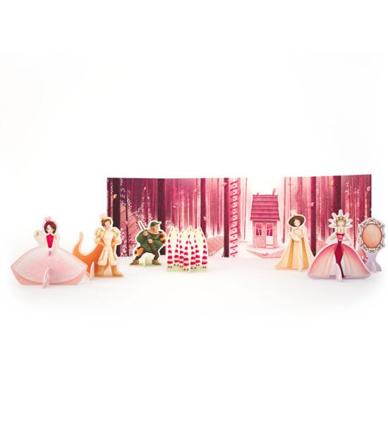 Sassi Junior Karton Oyun Setli Kitap // Snow White