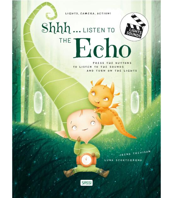 Sassi Junior Light, Camera, Action! - Sesli Işıklı İngilizce Kitap // Shhh... Listen to the Echo