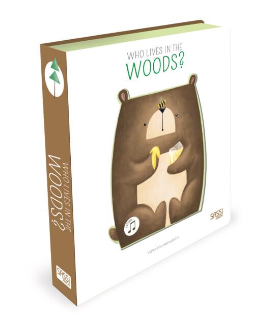 Sassi Junior Sound Books - İlk Sesli Kitap // Who Lives In The Woods?