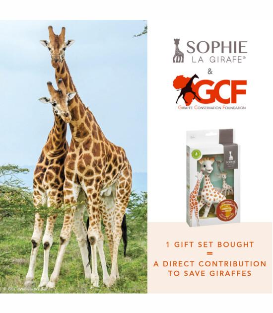 Sophie la Girafe Diş Kaşıyıcı & GCF Hediye Seti