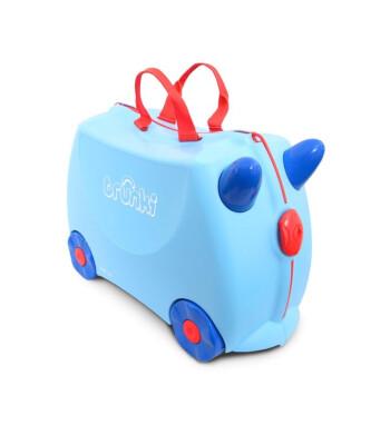 Trunki Çocuk Bavulu - Açık Mavi George